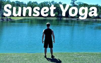 Yoga Dag 9: Yoga voor zonsondergang