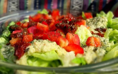 Raw Dag 18: Ik onthul je mijn geheim voor de beste salade(dressing)!
