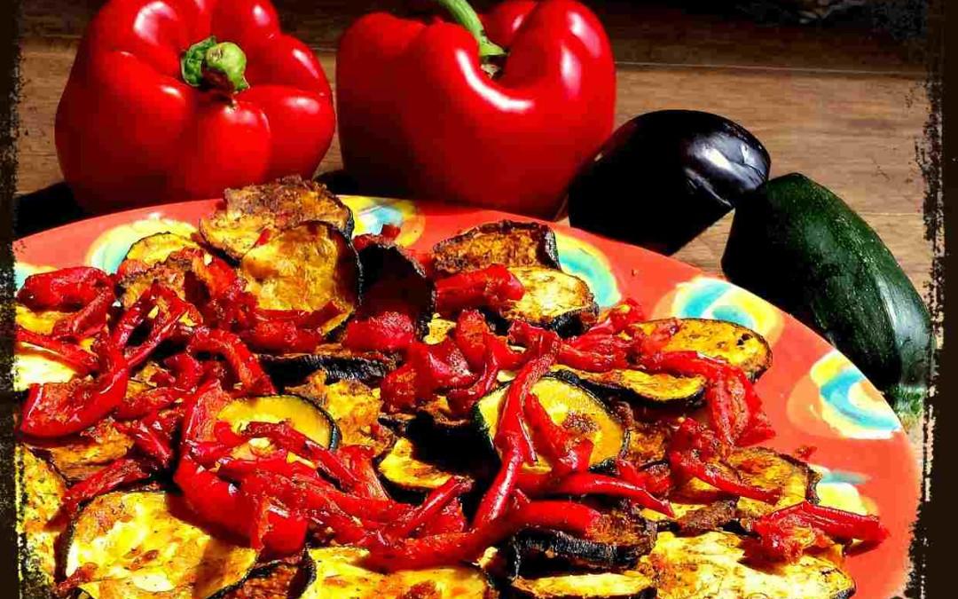 Raw Dag 26: Overheerlijke rauwe, gemarineerde en geroosterde groenten