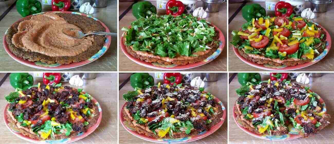 step by step tut pizza 75