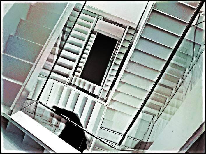 Deel 24: De oneindige trap van Escher