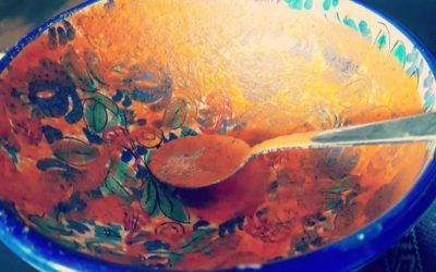 Day 3 of 100 day Juice Fast – tomato soup for the cravings
